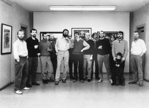 Vereinsgeschichte Leipziger Grafikbörse - 1975 / Arbeitsgruppe