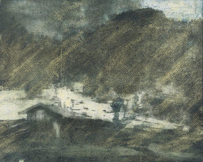 Ingo Duderstedt, Aufbruch, 2015, Ätzradierung, 62 x 77 cm