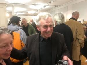 Der Dresdner Künstler Wolfgang Smy zur Eröffnung der 35. Grafikbörse