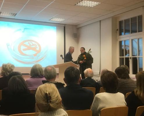 Baldwin Zettl erhält den Karl-Krug-Preis für Druckgrafik